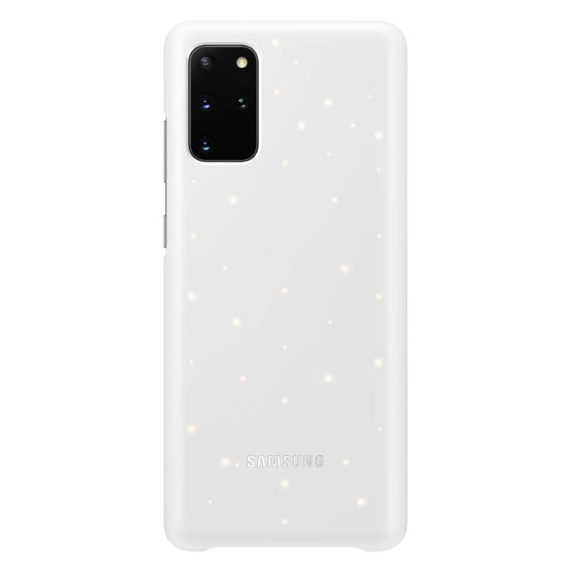 SAMSUNG Galaxy S20+ 5G LED智慧背蓋 白