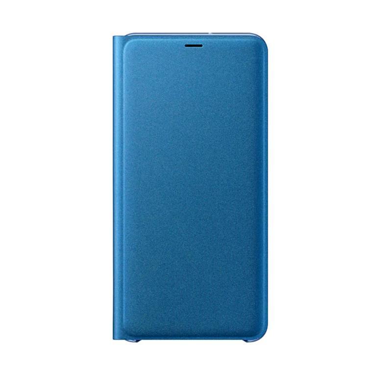 SAMSUNG Galaxy A7 翻頁式皮套 藍