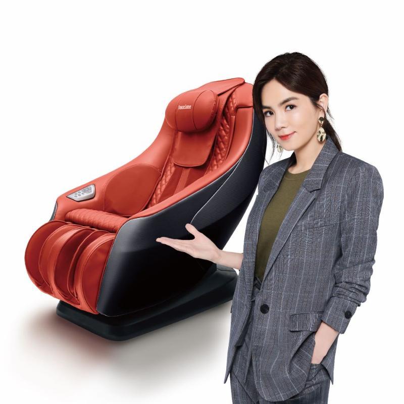 高島 愛舒服小沙發享睡版按摩椅 溫暖橘 A-1020A