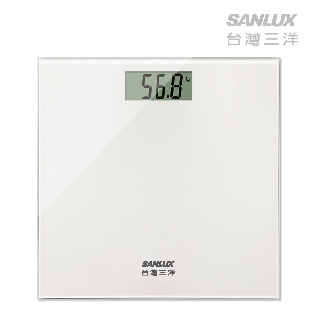 SANLUX台灣三洋 數位體重計 (SYES-301)白色