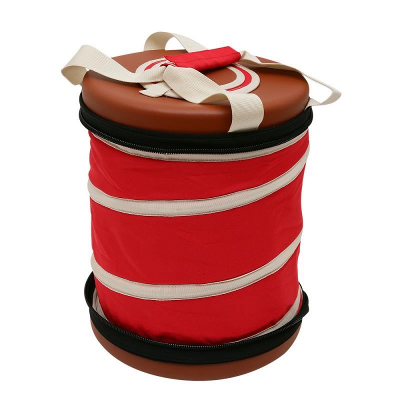 【OutdoorBase】春漾保冰野餐桶20L(小)-大容量.保冰.斷熱.摺疊.收納.野餐.露營
