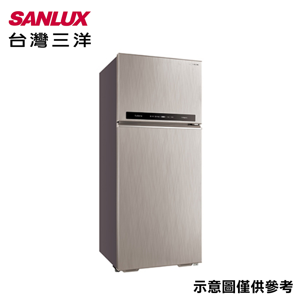 【SANLUX台灣三洋】533L 變頻雙門冰箱 SR-C533BV1A