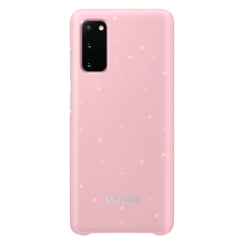 SAMSUNG Galaxy S20 5G LED智慧背蓋 粉