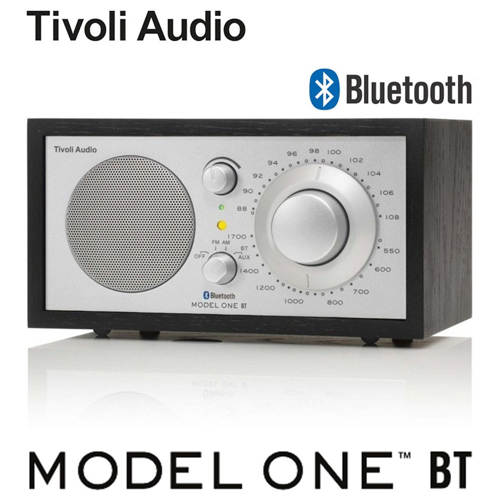 【Tivoli Audio】 Model One BT AM/FM 藍芽桌上型收音機(黑木紋)