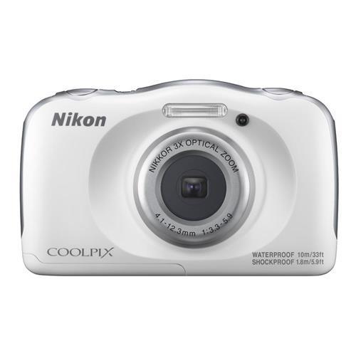 NIKON COOLPIX W100 - 白色 數位相機(公司貨)