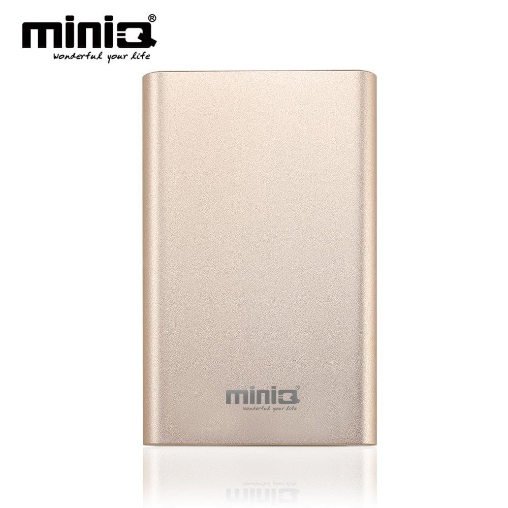 miniQ Coherer 10000 雙USB輸出行動電源 - 香檳金