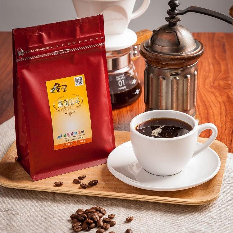 《蜂屋》幸福385咖啡豆(一磅)~香醇濃郁、柔滑順口、口感極佳