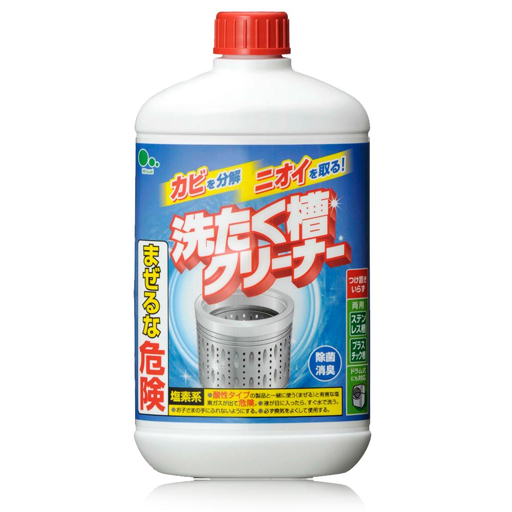 日本Mitsuei美淨易洗衣槽專用洗劑550gx4入