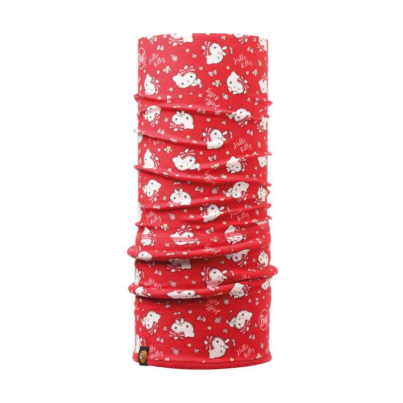 【西班牙 BUFF】俏皮凱蒂 Hello Kitty授權兒童POLAR保暖頭巾