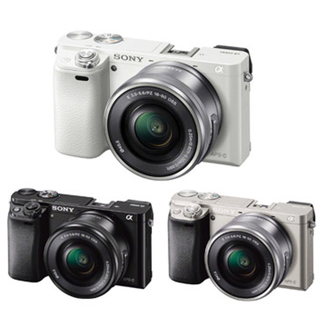SONY A6000L 16-50mm單鏡組-白色 送64G高速卡超值組公司貨~