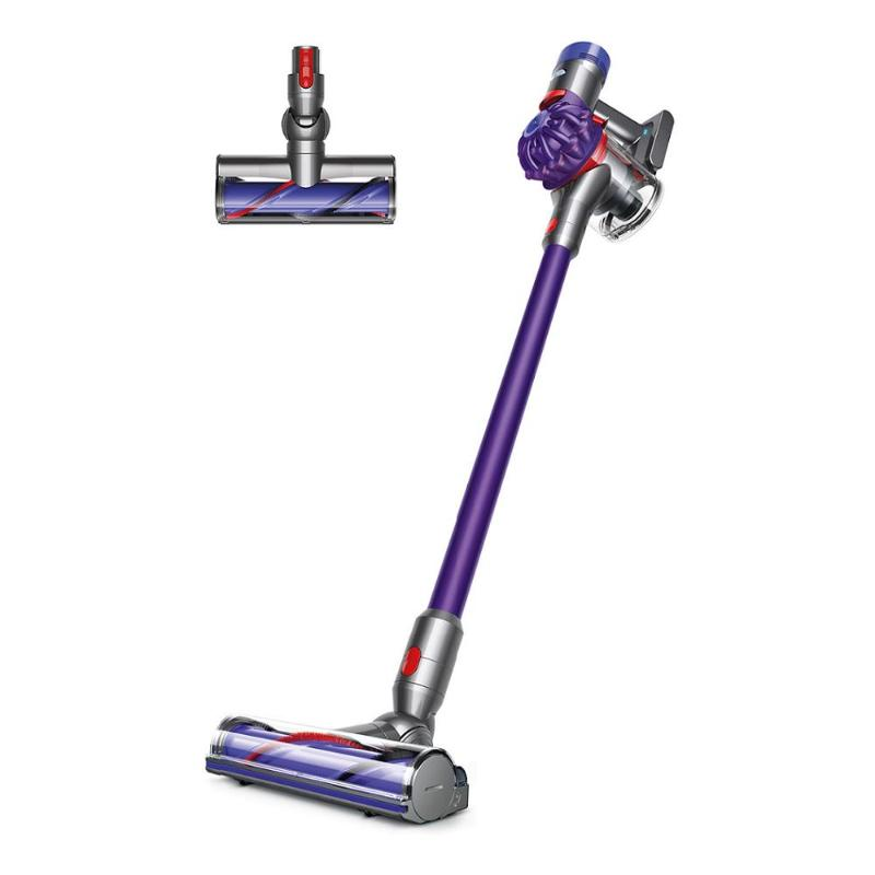 【福利品】Dyson V7 Motorhead 吸塵器 紫 (非fluffy,由軟毛吸頭升級碳纖維毛刷深層吸頭!)