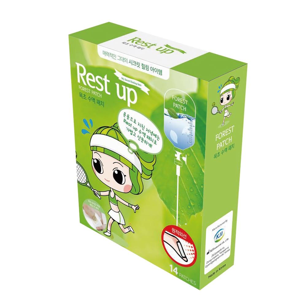 [Rest Up]足底舒適貼片- 木醋液 [ㄧ般款] (14入)