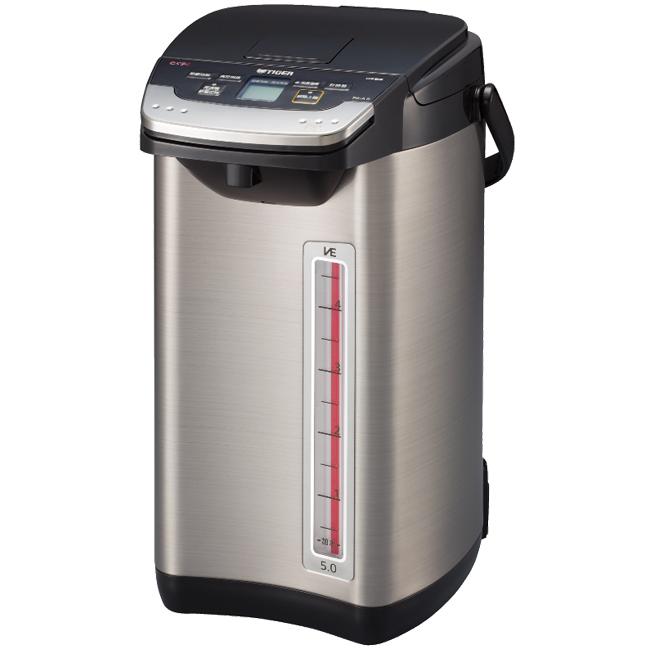 【TIGER虎牌】5.0L無蒸氣VE省電真空熱水瓶 PIE-A50R
