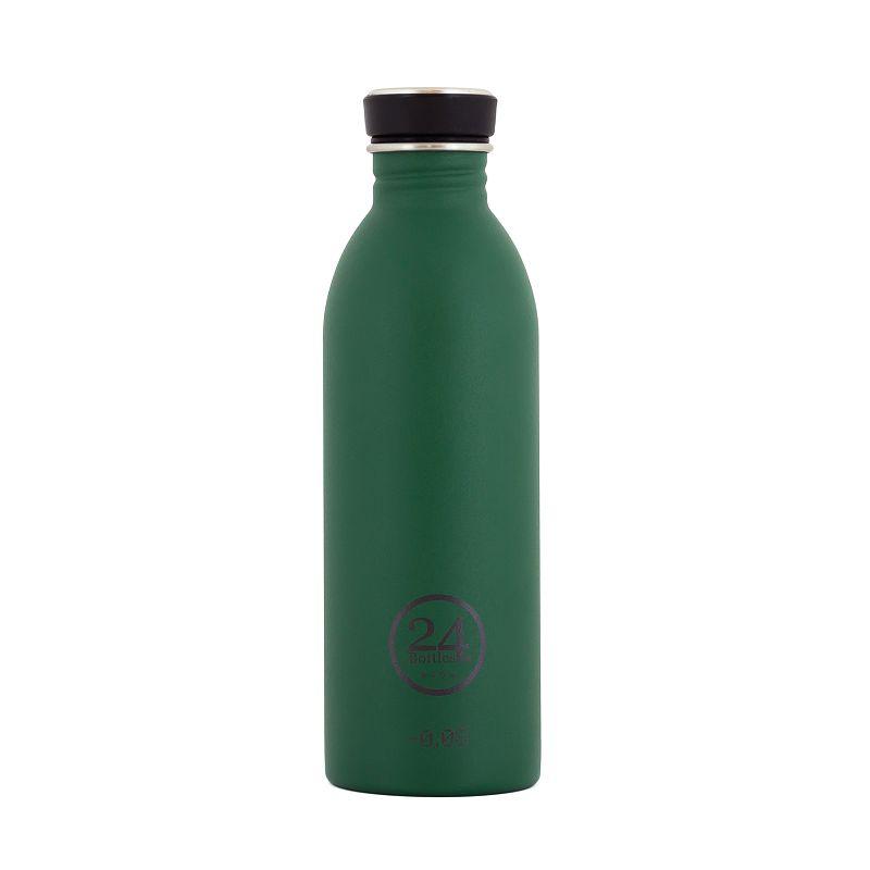 義大利 24Bottles 城市水瓶 500ml - 森林綠