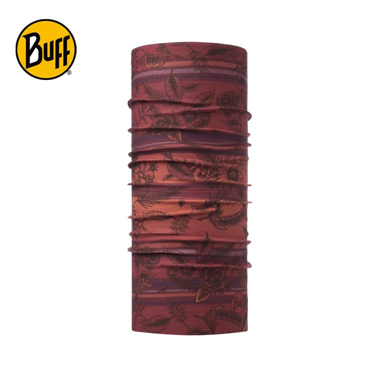 【西班牙 BUFF】紅暈樹影 經典頭巾