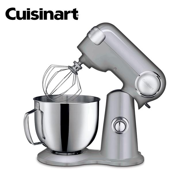 【美膳雅Cuisinart】12段速桌上型抬頭式攪拌機/攪拌器 (加碼送刮刀三件組)