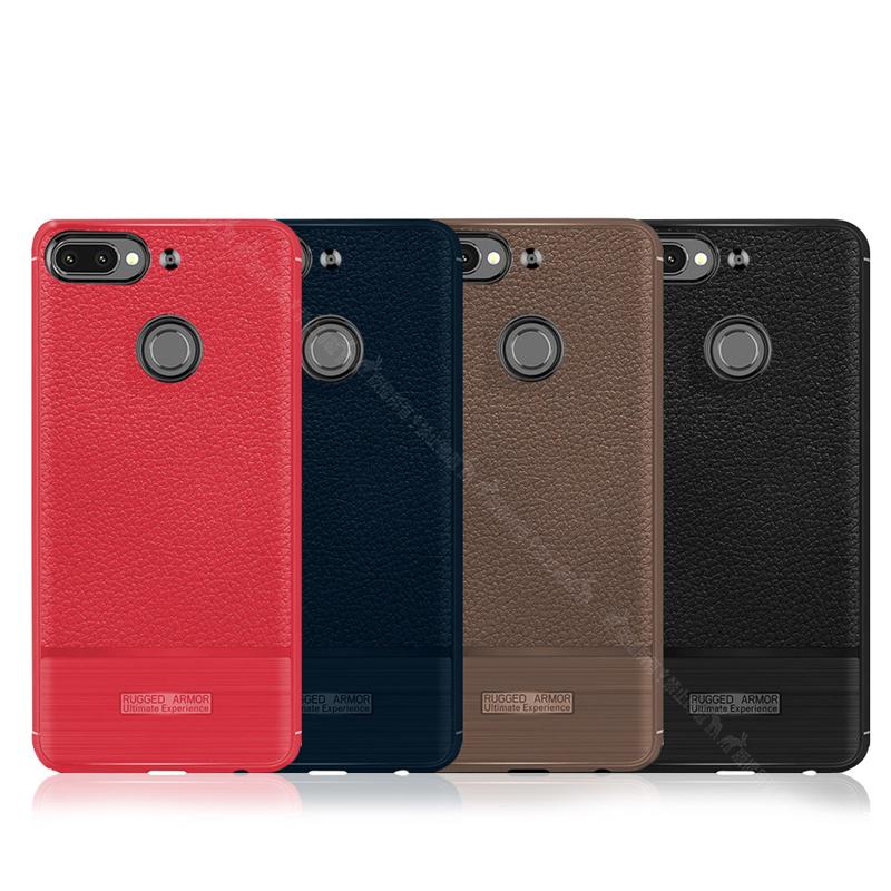 VXTRA HTC Desire 12+/12 plus 防滑手感皮紋 軟性手機殼 (巧克咖)