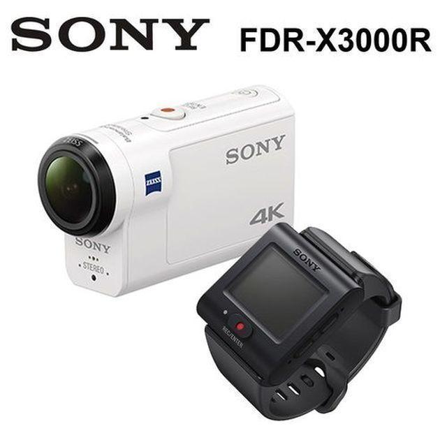 SONY FDR-X3000R 攝影機 再送64G卡超值組公司貨 含即時檢視遙控器套組