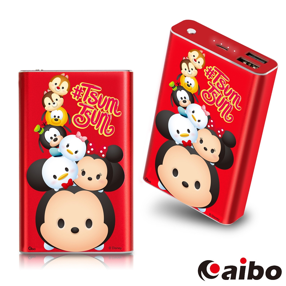 【Disney】TSUM TSUM 堆疊友情 7800mAh行動電源-米奇