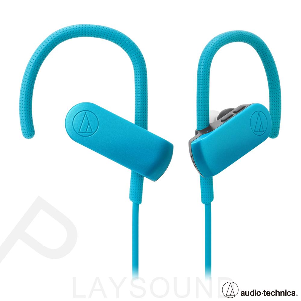 鐵三角 ATH-SPORT50BT 藍色 耳掛式 藍牙無線 運動耳機麥克風組