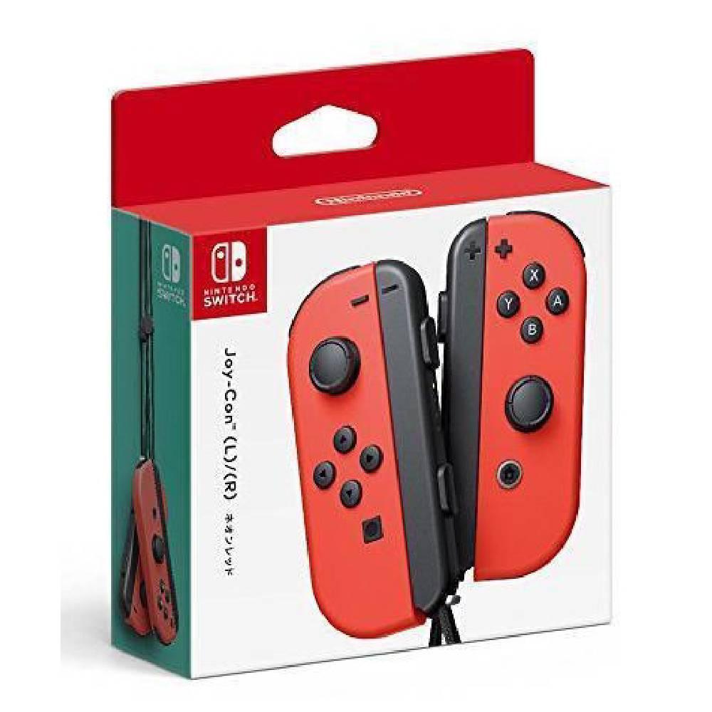Nintendo Switch Joy-Con 控制器 左右手套組 紅