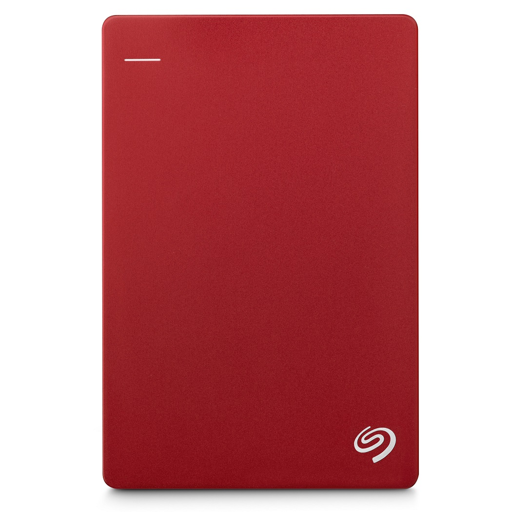 Seagate Backup Plus Slim 1TB 2.5吋可攜式行動硬碟(紅)