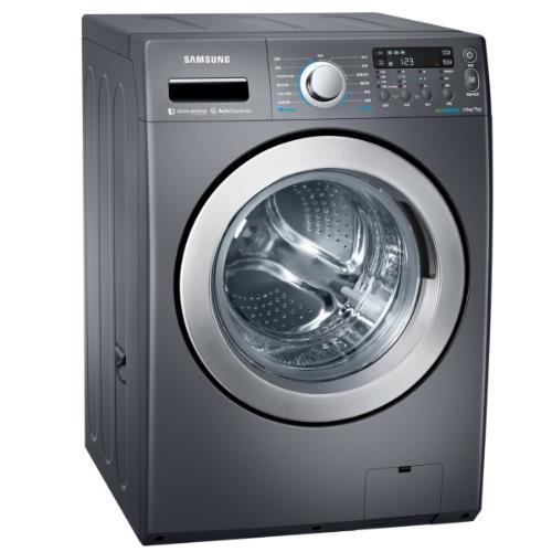 回函加碼送★【SAMSUNG三星】14KG變頻滾筒式洗衣機 WD14F5K5ASG/TW