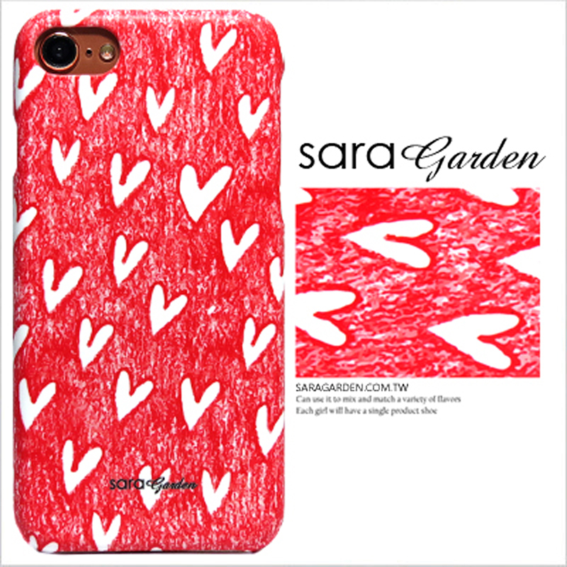 【Sara Garden】客製化 手機殼 SONY XZP XZ Premium 手繪插畫愛心 保護殼 硬殼