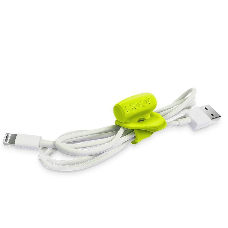 【台灣 MOOY】Clingman小樹懶彈性束線帶-綠色(三入/組)