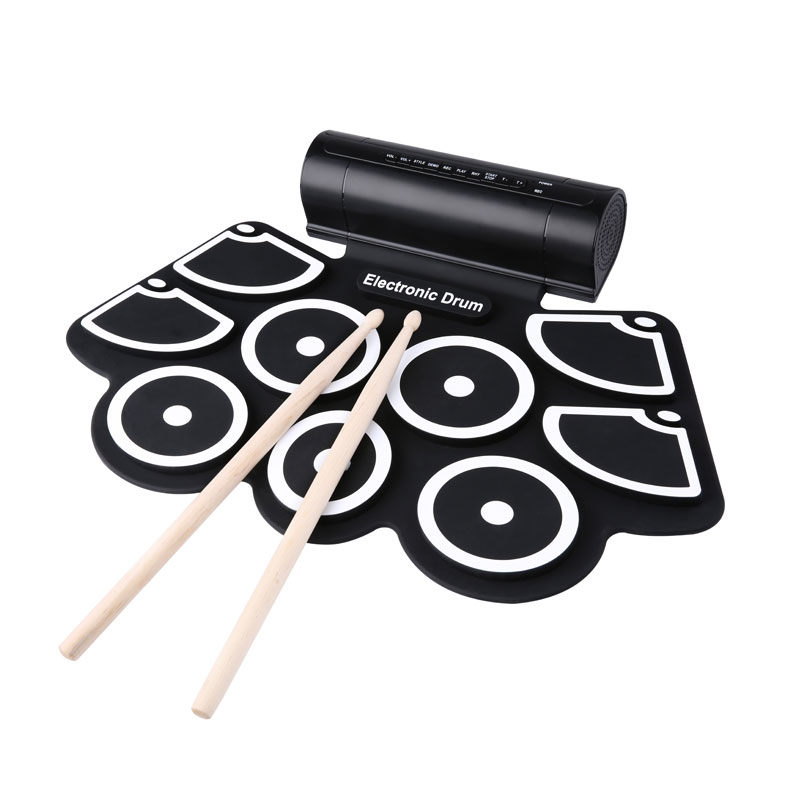 Roll up 手捲式電子鼓 EL-DP818S 原廠保固 電子鼓玩具 音樂學習 便攜式 鼓 usb 遊戲 練習 兒童娛樂