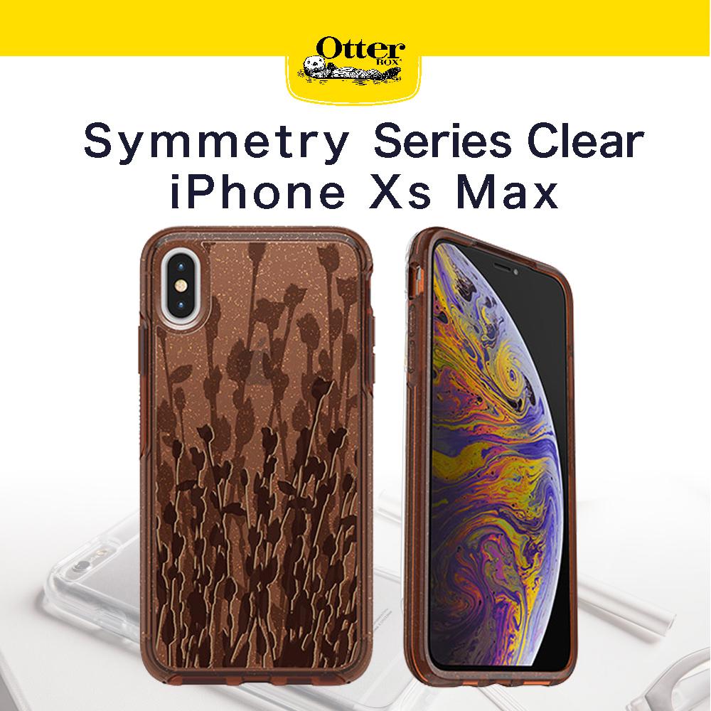 【OtterBox】iPhoneXs Max Symmetry 炫彩透明系列 防撞保護殼 透明柳
