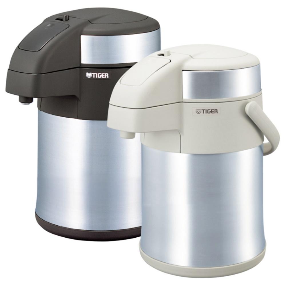 TIGER虎牌 2.2L氣壓式不鏽鋼保溫保冷瓶 XW白色 MAA-A222-XW