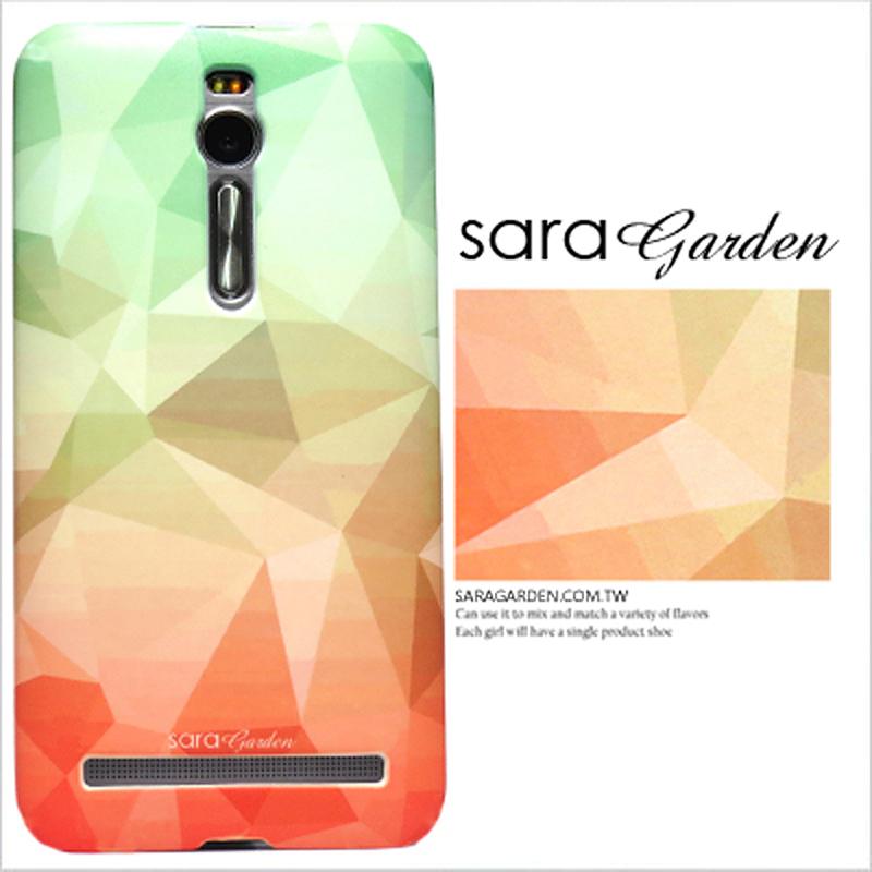 【Sara Garden】客製化 手機殼 ASUS 華碩 ZenFone Max (M2) 潮流 三角 圖騰 保護殼 硬殼