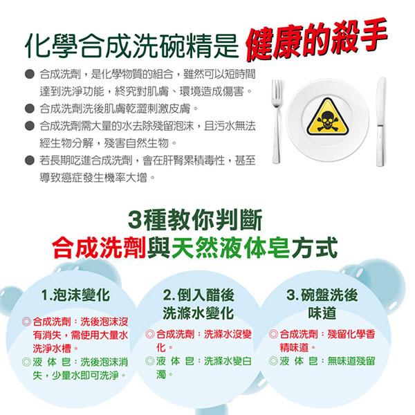 南僑 水晶肥皂食器洗碗精補充包800ml*8入/箱-商品簡介圖2