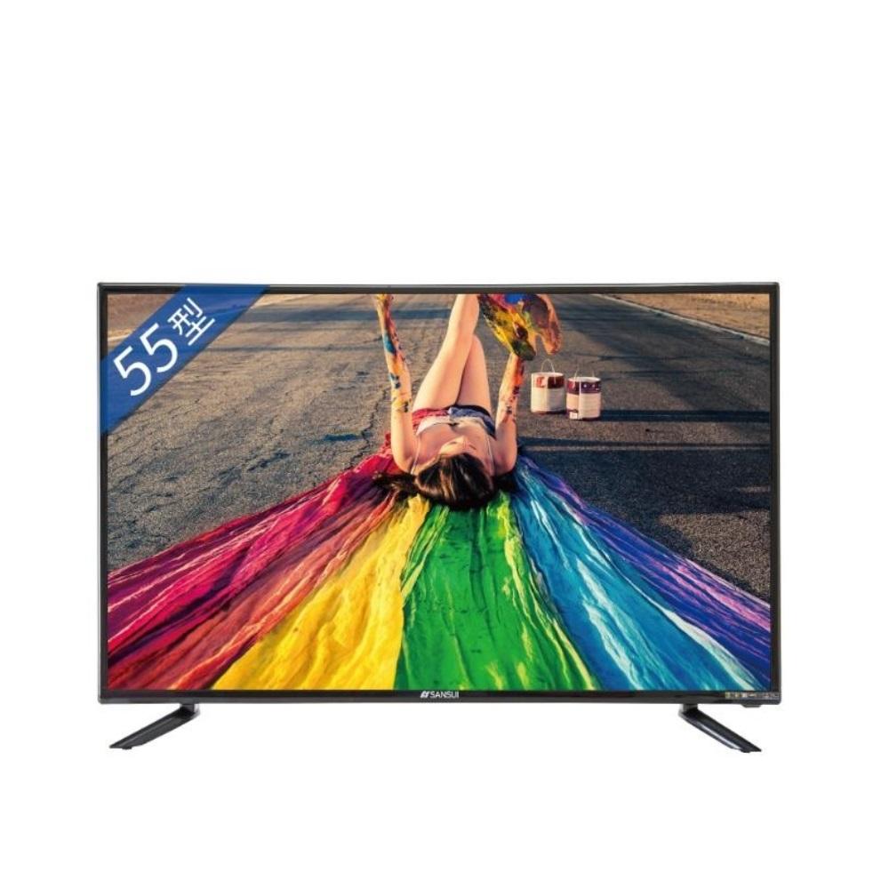 山水55型4K聯網安卓9.0電視SLHD-5522(無安裝)