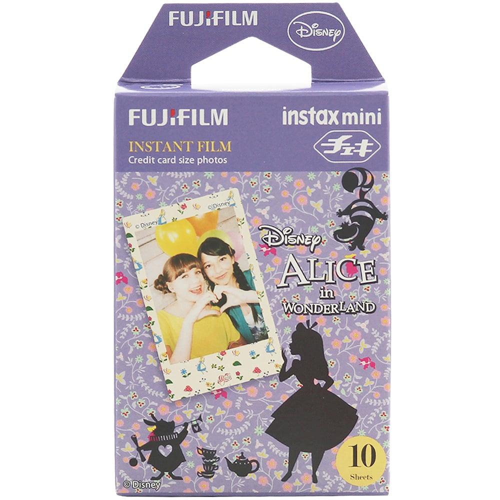 FUJIFILM instax mini 愛麗絲夢遊仙境 拍立得底片(2盒裝)