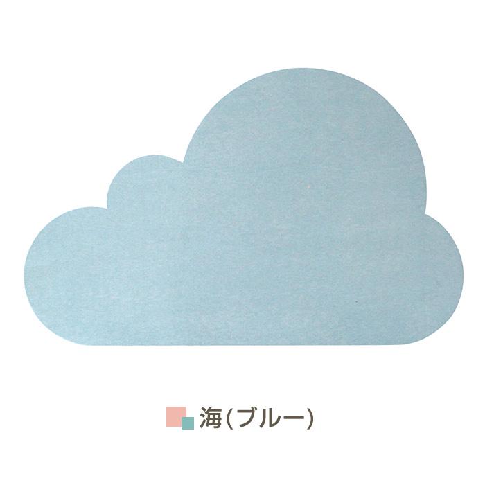 日系和風款 珪藻土吸水地墊\\雲朵-藍