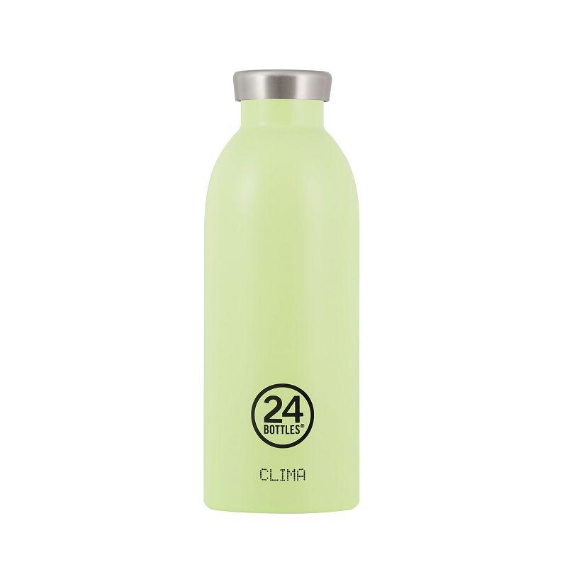 義大利 24Bottles Clima不銹鋼雙層保溫瓶 500ml - 開心果