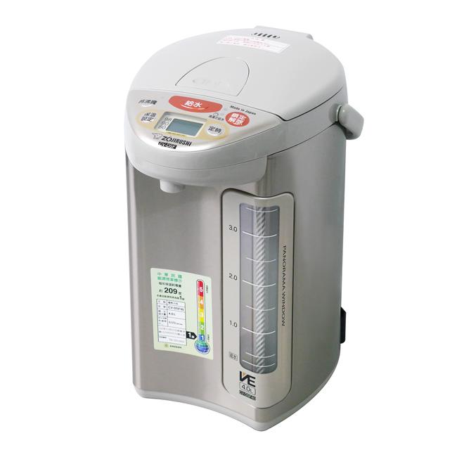 【象印】4公升SuperVE真空省電微電腦熱水瓶(XA) CV-DSF40
