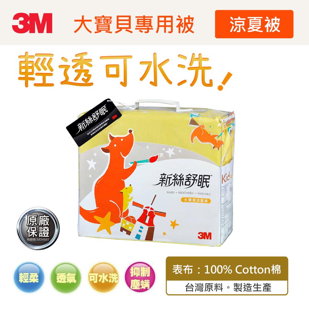 【3M】新絲舒眠大寶貝專用被(Z120涼夏被)(6-12歲適用)