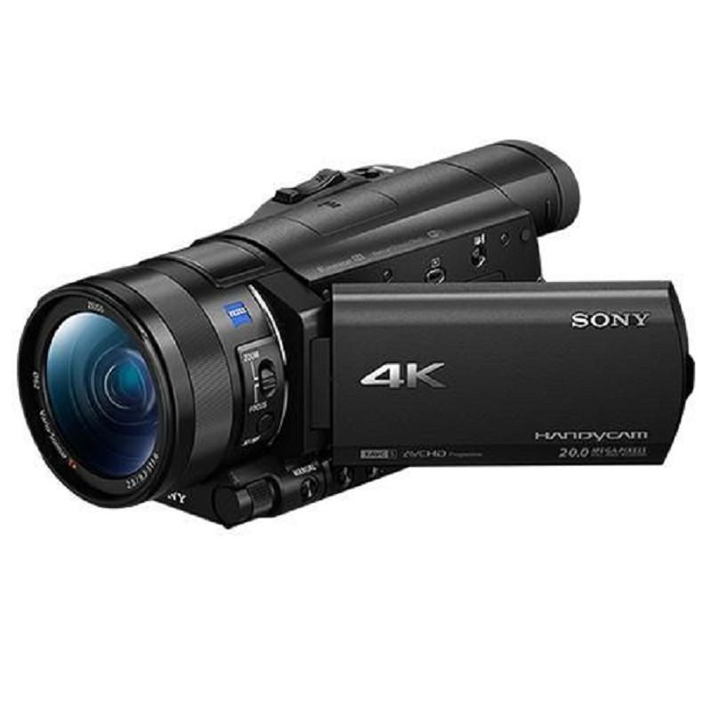 加贈原廠NP-FV100A電池 SONY FDR-AX100 4K數位攝影機(公司貨) 送64G記憶卡超值組