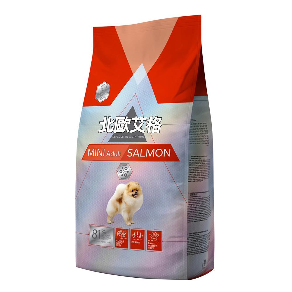 北歐艾格 小型成犬專用-鮭魚配方 1.8kg