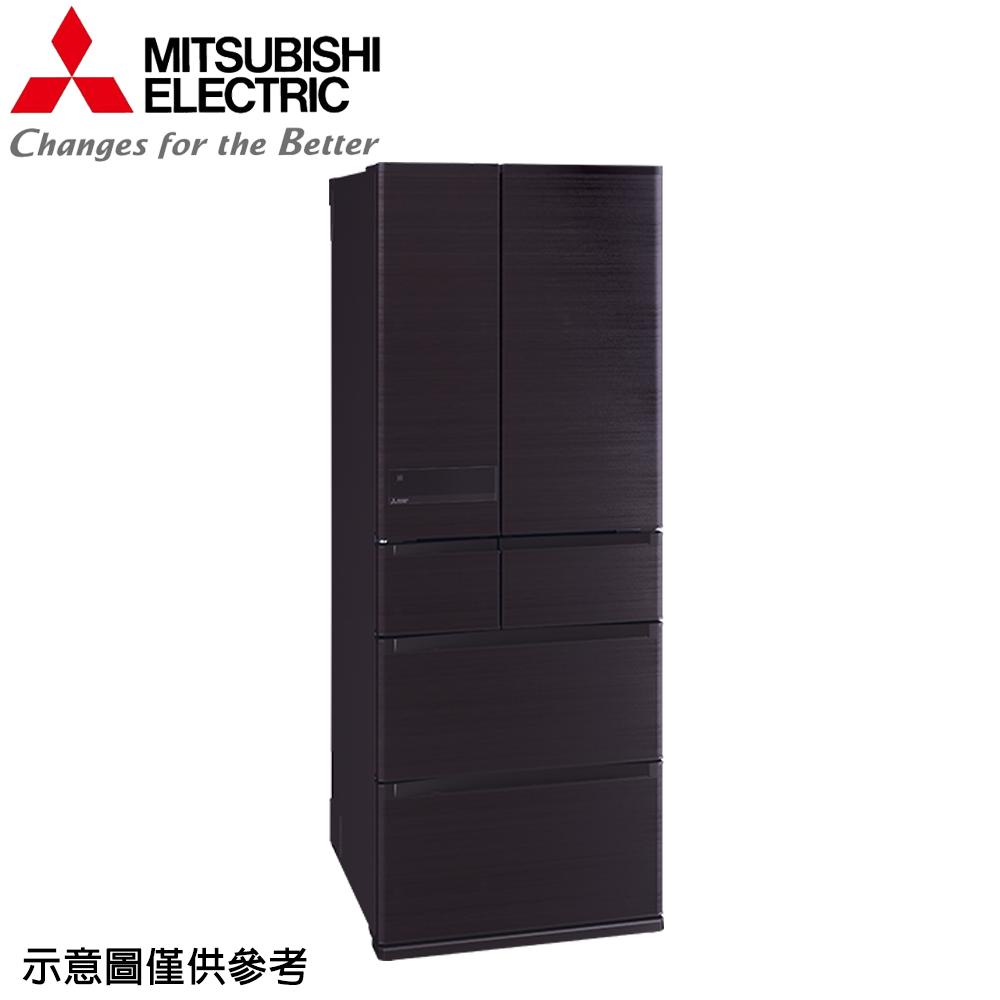 ★限量下殺★【MITSUBISHI 三菱】605公升日本原裝變頻六門冰箱MR-JX61C-RW