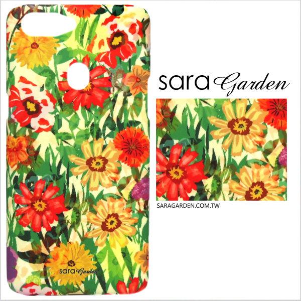 【Sara Garden】客製化 手機殼 OPPO R11 r11 保護殼 硬殼 碎花花叢