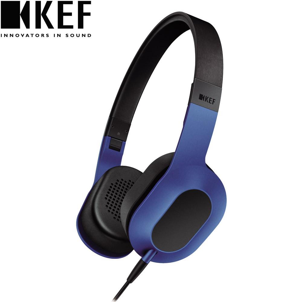 英國 KEF M400 Hi-Fi 耳罩式耳機-賽車藍