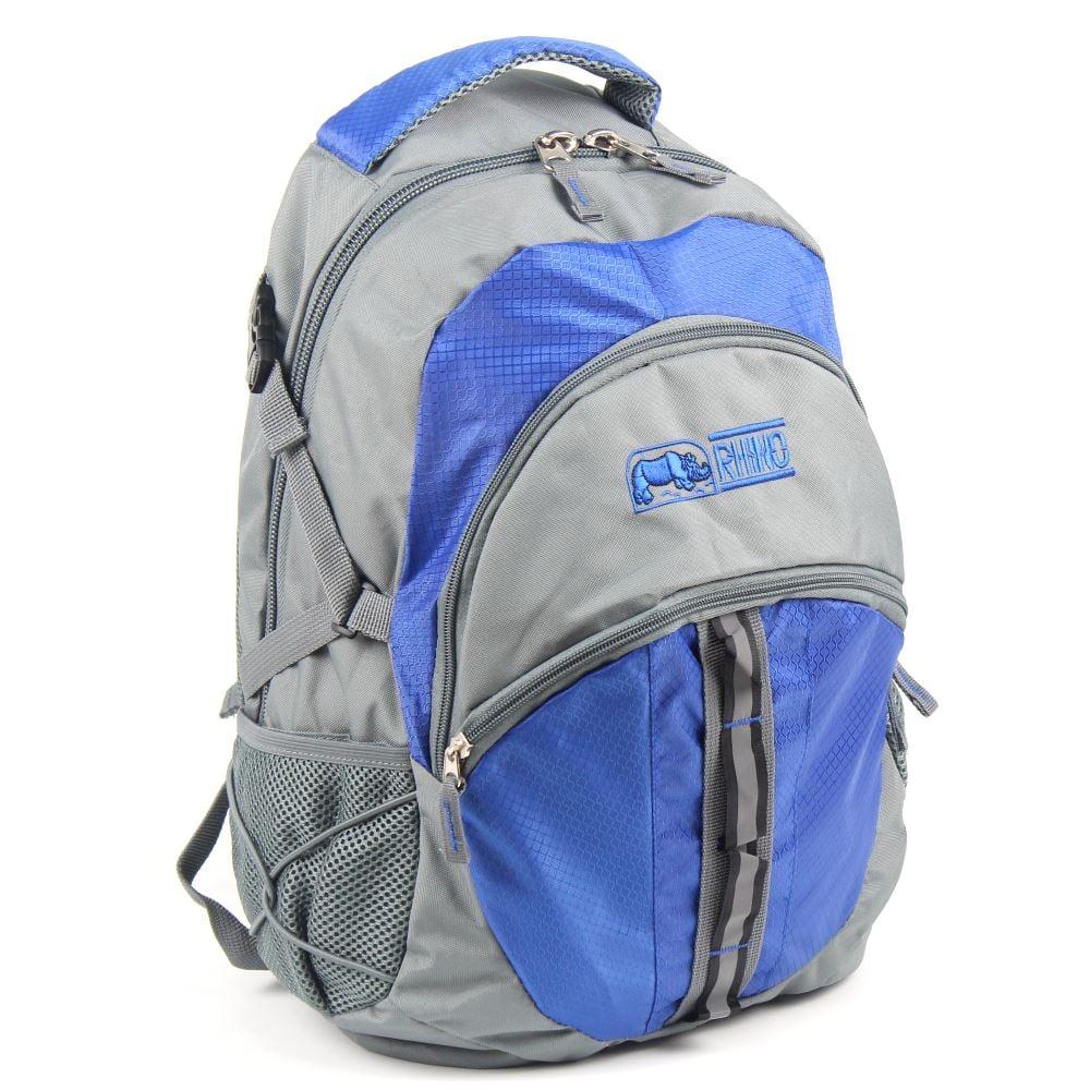 犀牛RHINO  School Plus 休閒電腦兩用背包(25公升)-寶藍