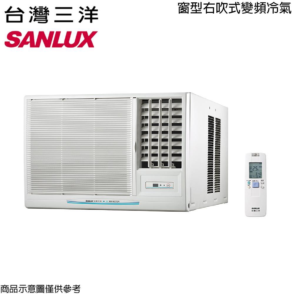 【SANLUX三洋】2-3坪窗型變頻右吹冷氣SA-R22VSE