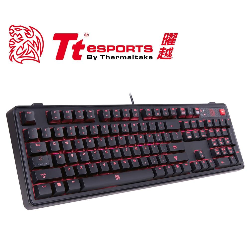 Tt eSPORTS 拓荒者 MEKA PRO 青軸機械鍵盤(KB-MGP-BLBDTC-01)