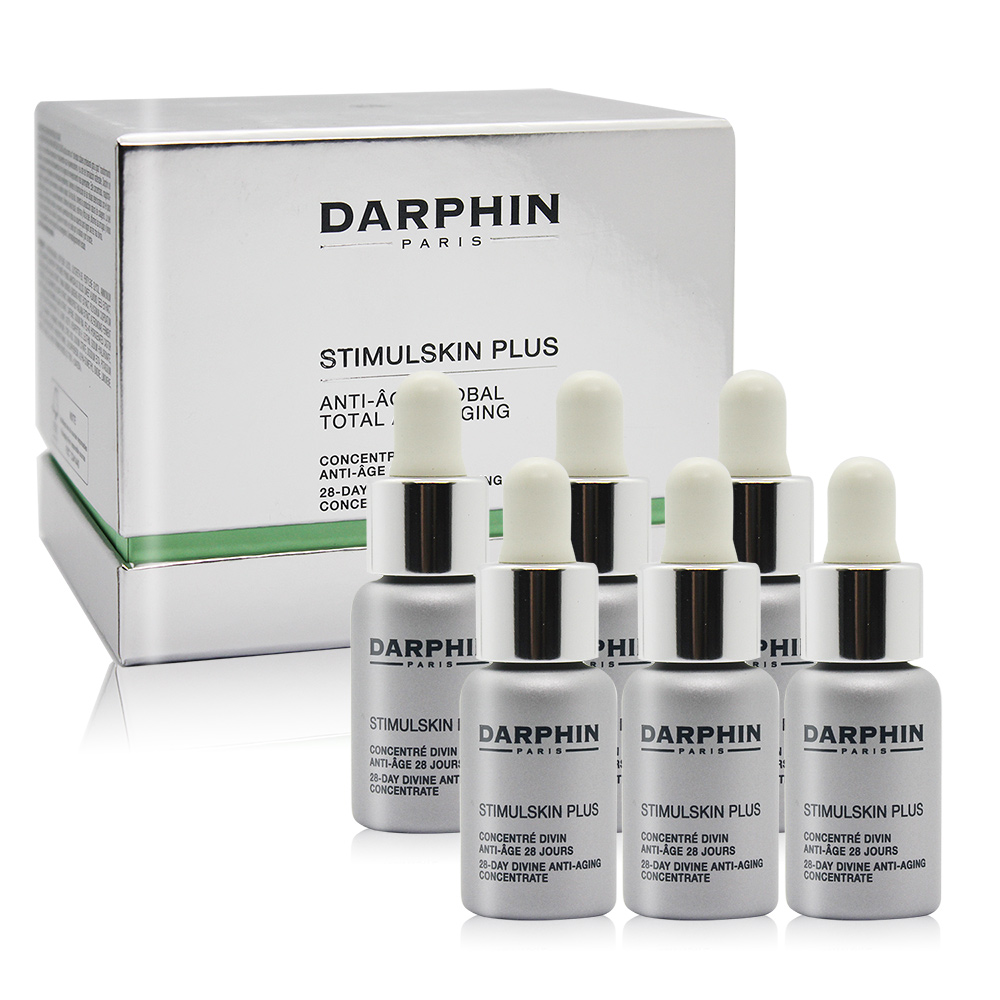 Darphin 朵法 深海緊緻賦活黑鑽能量安瓶(5mlX6)-百貨公司貨
