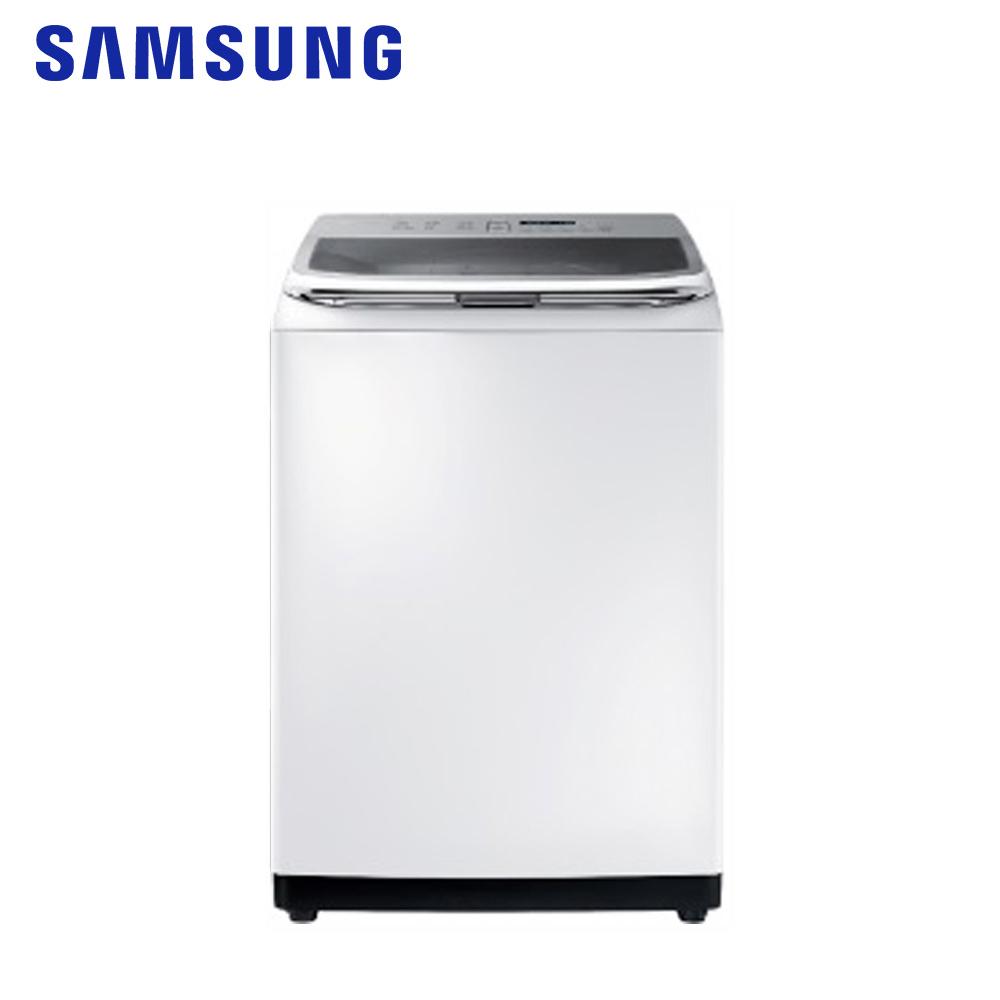 【SAMSUNG三星】18KG變頻智慧觸控洗衣機 WA18R8100GW